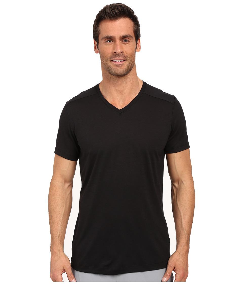 Arcteryx A2B V Neck Black Mens Clothing