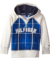Tommy Hilfiger Kids - Flannel Fleece Pullover Hoodie (Toddler/Little Kids)