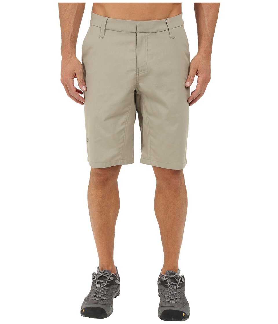 Arcteryx A2B Chino Shorts Light Carbide Mens Shorts