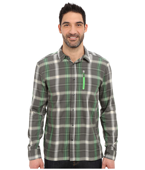 Icebreaker Compass II Long Sleeve Shirt Plaid