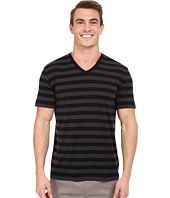 Icebreaker - Tech Lite Short Sleeve V Stripe