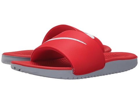 Nike Kids Kawa Slide (Little Kid/Big Kid) - University Red/White
