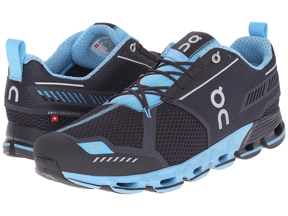 On Cloudflyer Iron/Sky Mens Shoes