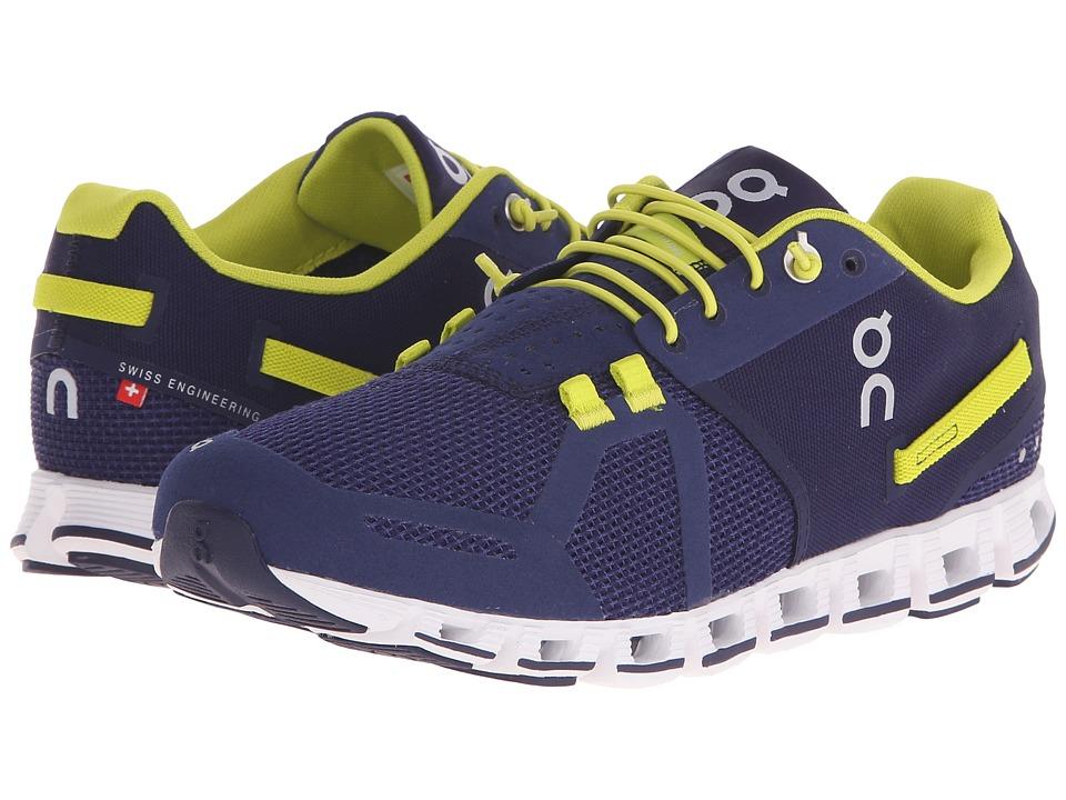 On Cloud Grape/Sulphur Womens Running Shoes