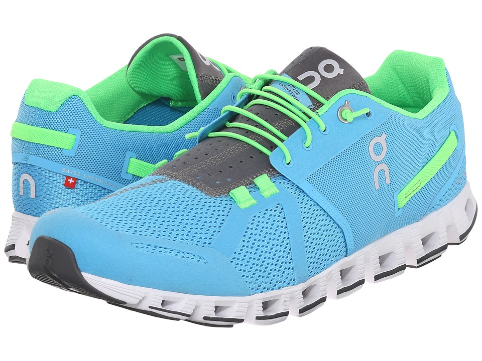 On Cloud Diver/Lime Mens Running Shoes