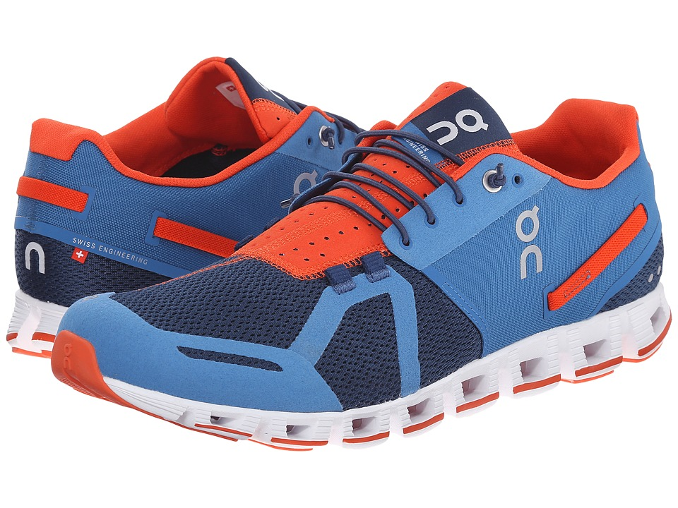 On Cloud Pacific/Sunset Mens Running Shoes