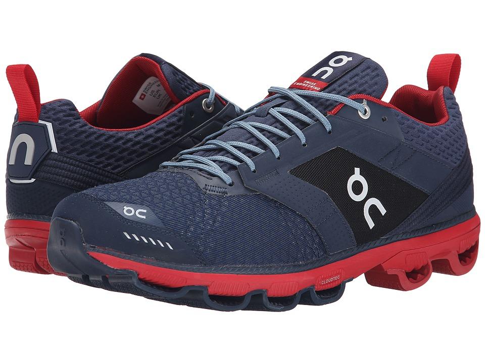 On Cloudcruiser Midnight/Mars Mens Shoes