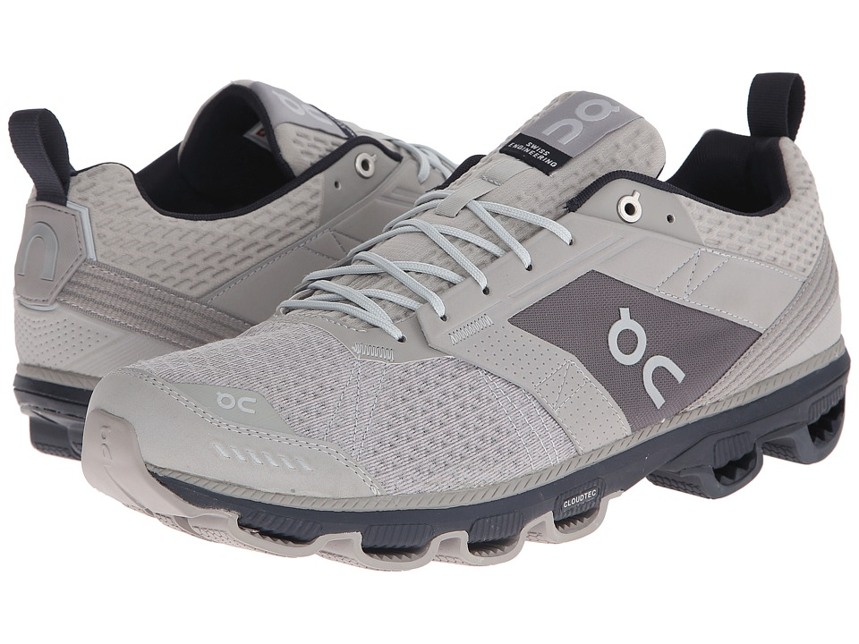 On Cloudcruiser Grey/Ink Mens Shoes