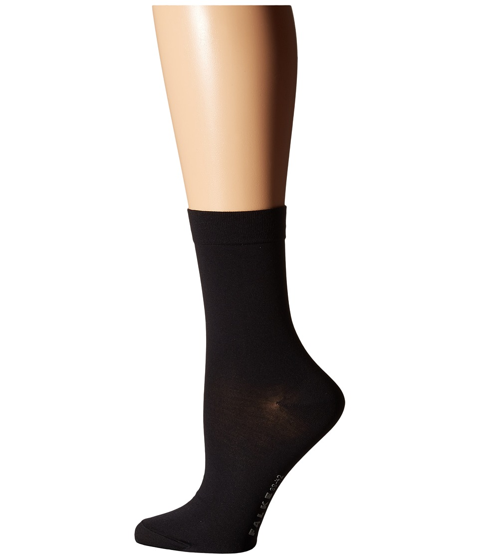Falke - Cotton Touch Socks (Black) Womens Low Cut Socks Shoes