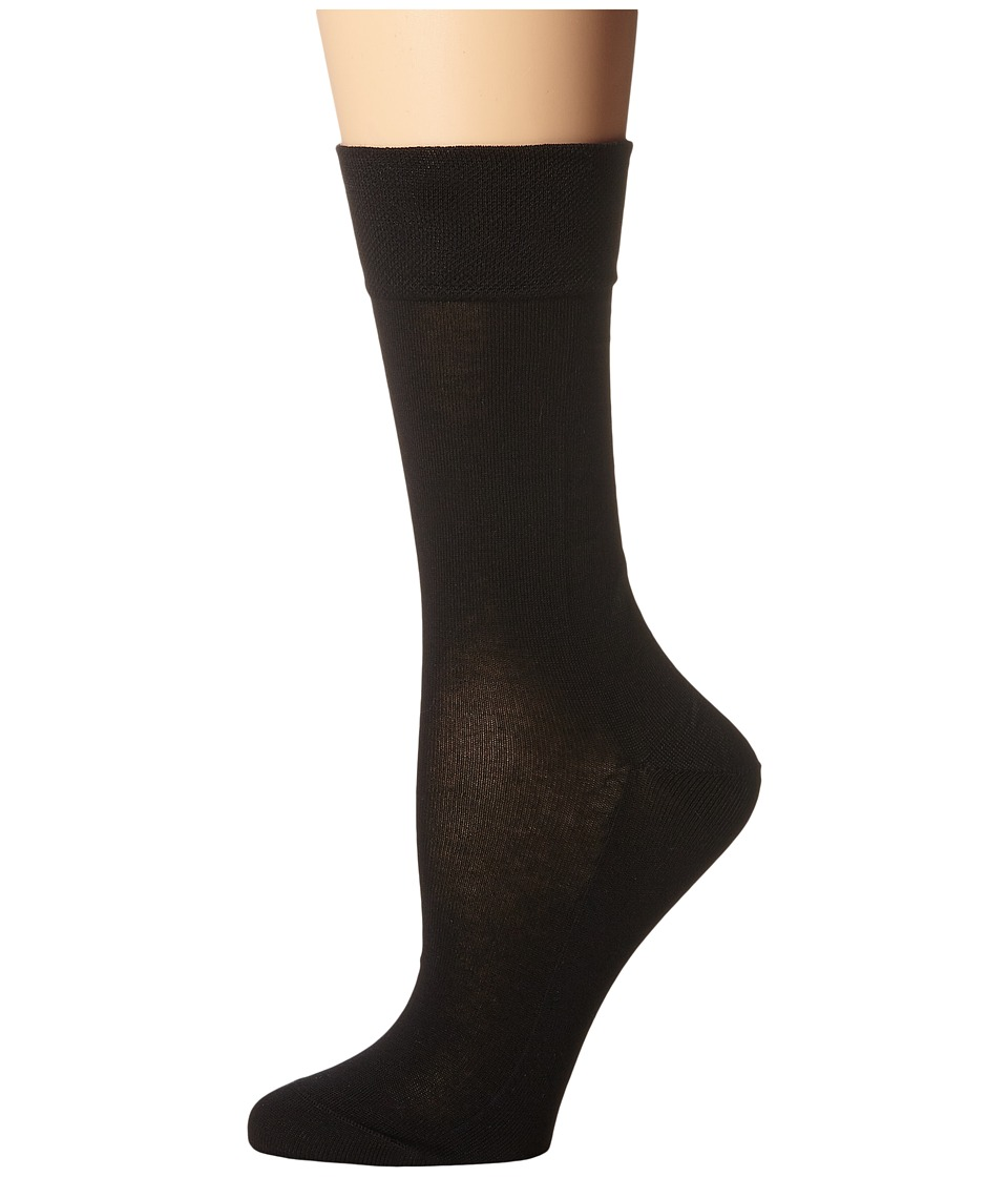 Falke - Sensitive Malaga Socks (Black) Womens Low Cut Socks Shoes