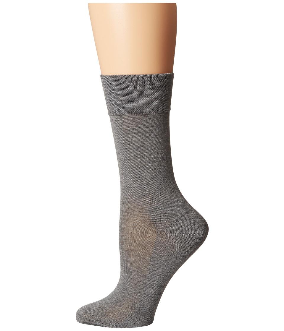 Falke Sensitive Malaga Socks Light Grey Womens Low Cut Socks Shoes