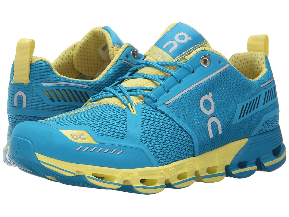 On Cloudflyer Mani/Lemon Womens Shoes