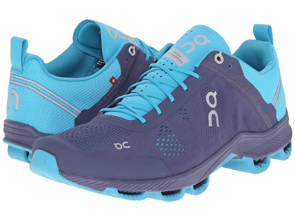 On - Cloudsurfer (Velvet/Blue) Womens Running Shoes