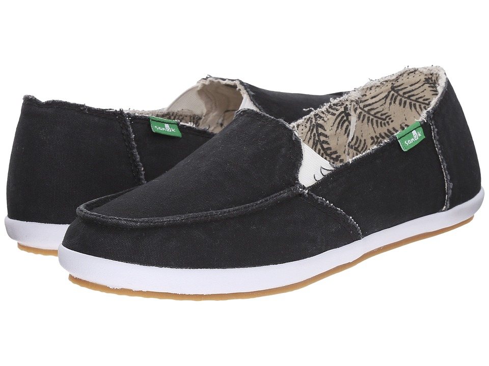Sanuk - Overboard (Black) Women