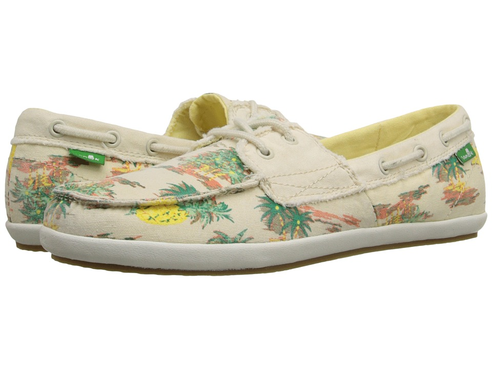 Sanuk Sailaway 2 Vacay (Natural Pineapple) Women