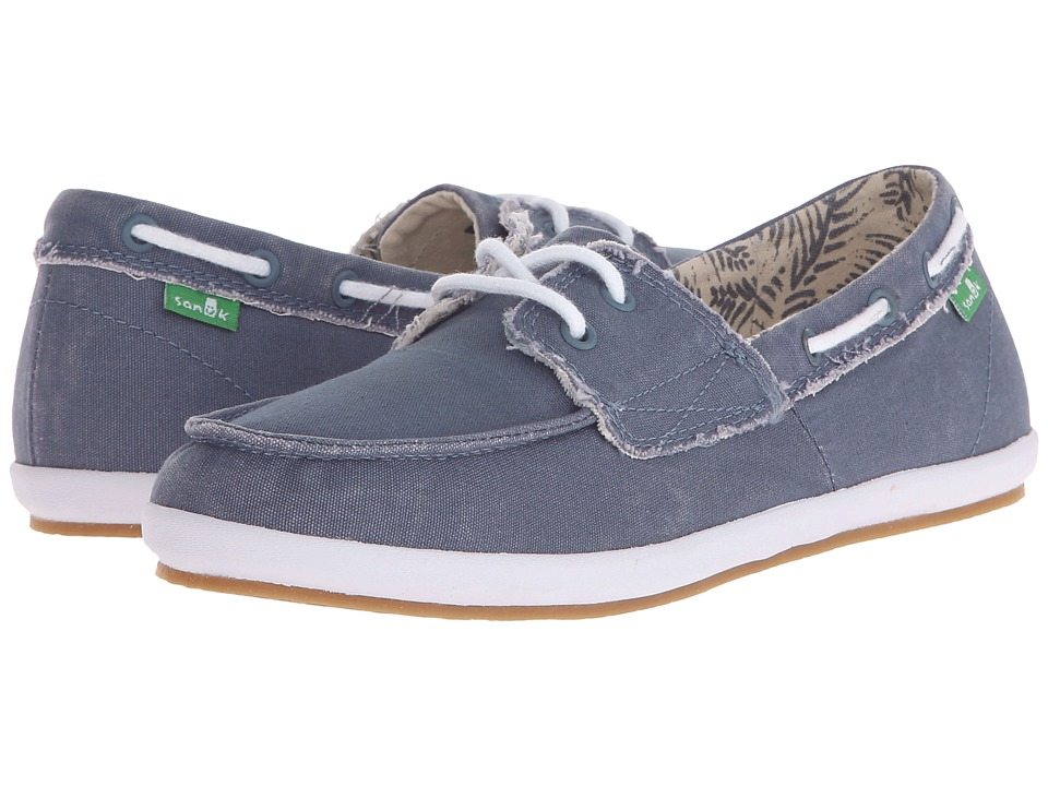 Sanuk Sailaway 2 Fray (Slate Blue) Women