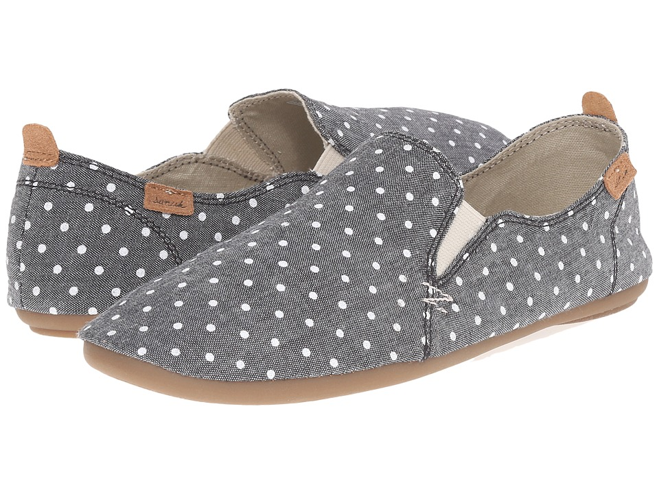 Sanuk - Isabel Prints (Black/White Dots) Women