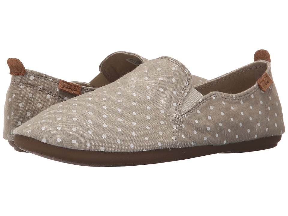 Sanuk Isabel Prints (Natural/White Dots) Women