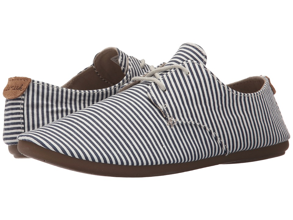Sanuk - Bianca Prints (Slate Blue/White Stripes) Women