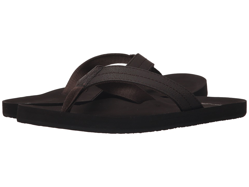 Sanuk - Burm (Brown) Men's Sandals