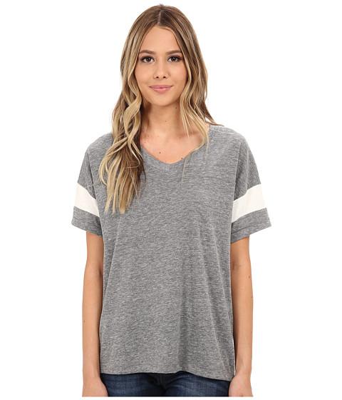 Alternative - Powder Puff Tee (Eco Grey/Eco Ivory) Women's T Shirt