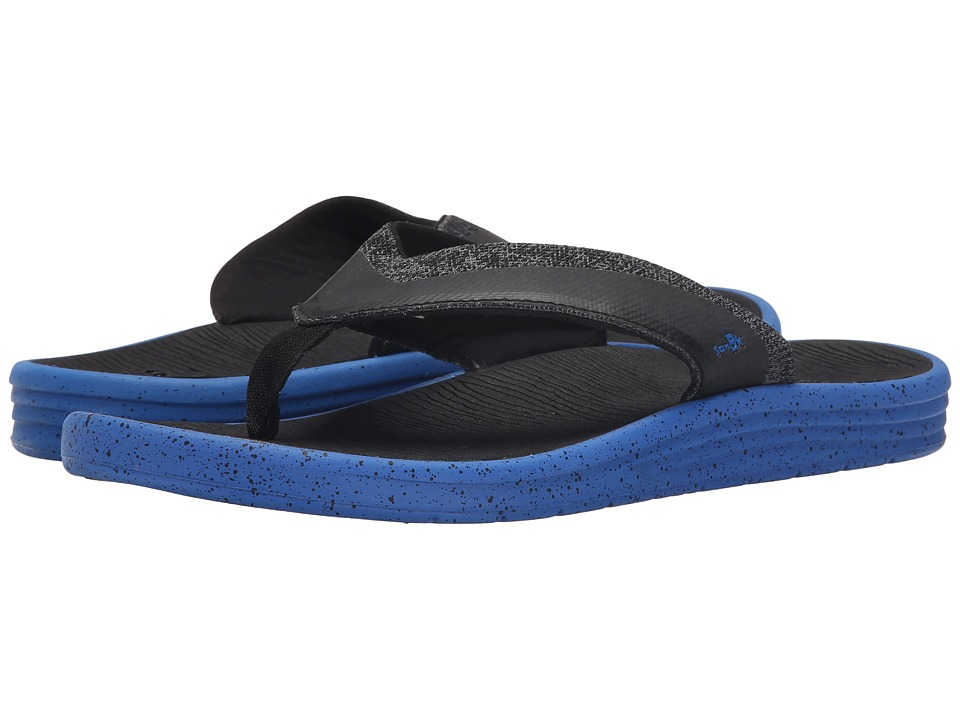 Sanuk - Compass (Royal/Black) Men