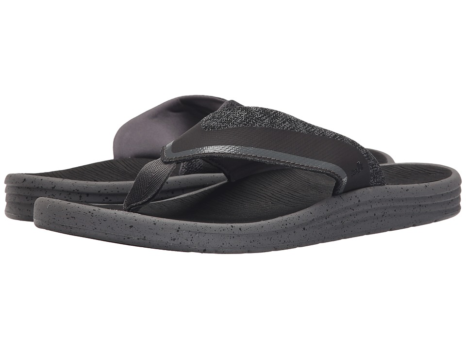 Sanuk - Compass (Charcoal/Grey) Men