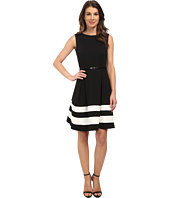 Calvin Klein - Ponte Fit & Flare Dress
