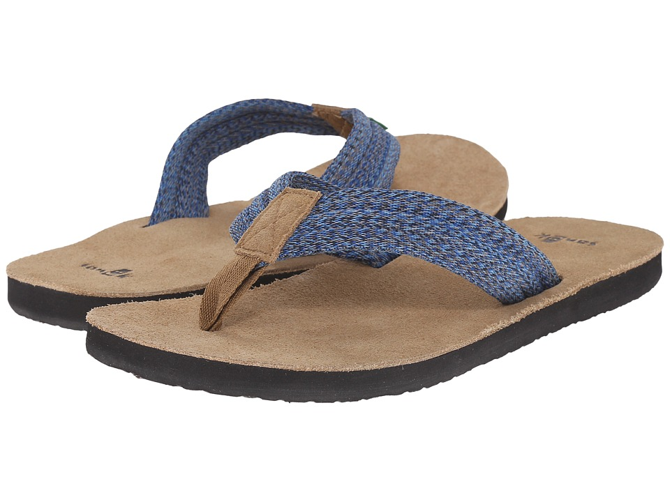 Sanuk - Fraid Webbing (Multi Aqua) Men