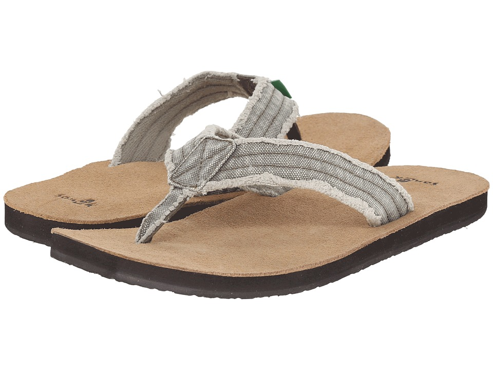 Sanuk Fraid Not Olive Mens Sandals