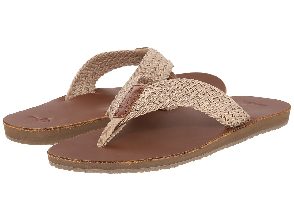 Sanuk - John Doe Braided (Tan) Men