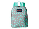 JanSport SuperBreak (Grey Rabbit Sylvia Dot)