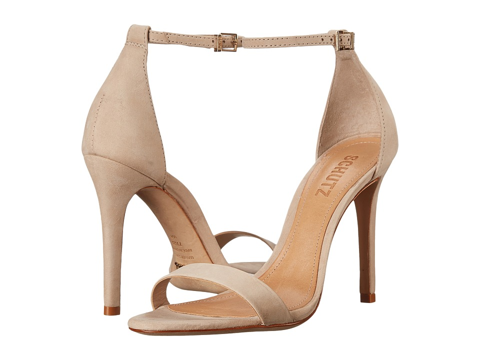 Schutz Cadey Lee Oyster High Heels