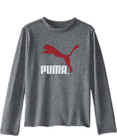 Puma Kids - Core Long Sleeve Logo Tee (Infant)