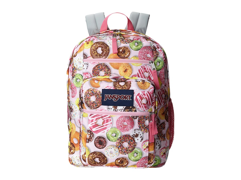 JanSport Big Student Multi Donuts Backpack Bags