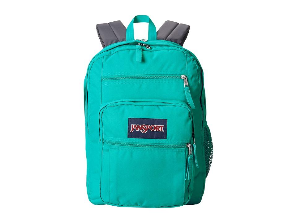 JanSport Big Student Spanish Teal Backpack Bags