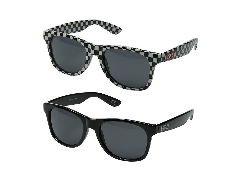 Vans Spicoli 4 Two Pack Checkered Pack Fashion Sunglasses