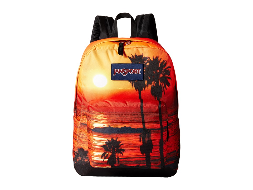 JanSport High Stakes Multi Laguna Beach Backpack Bags