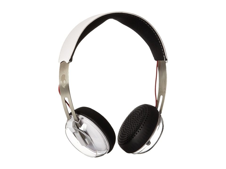 Skullcandy Grind White/Black/Red Headphones