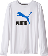 Puma Kids - No.1 Long Sleeve Logo Tee (Big Kids)