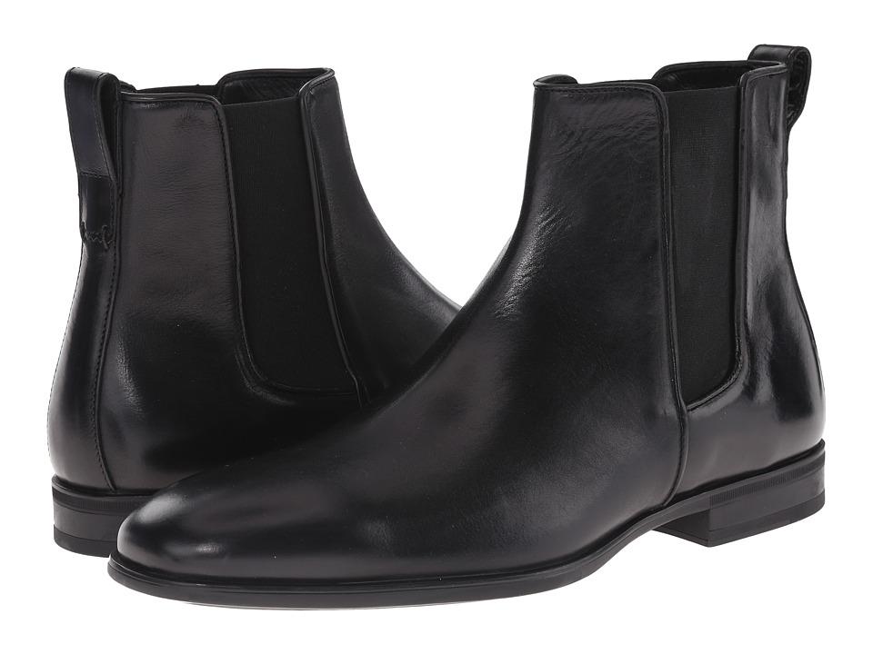 Image of Aquatalia - Adrian (Black Dress Calf) Men's Pull-on Boots