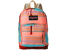 JanSport Right Pack World (Fourescent Red Golden Summer)