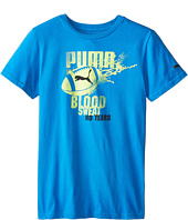 Puma Kids - Football Splat Tee (Big Kids)