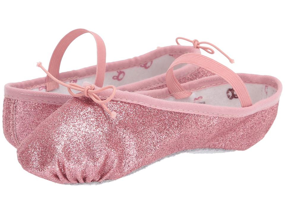 Bloch Kids Glitter Dust Ballet Slipper Toddler/Little Kid Rose Girls Shoes