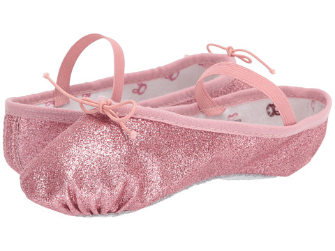 Bloch Kids Glitter Dust Ballet Slipper (Toddler/Little Kid) - Rose