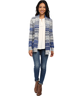 Lucky Brand - Striped Sweater Cardigan