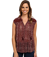 Lucky Brand - Floral Inset Top