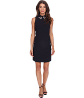 Eliza J - Sleevless Shift with Beaded Peter Pan Collar