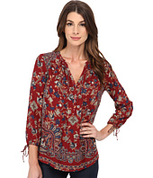 Lucky Brand - Floral Paisley Top