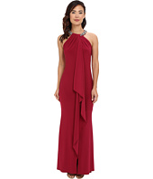 Eliza J - Beaded Neckline Dress with Ruffle Front